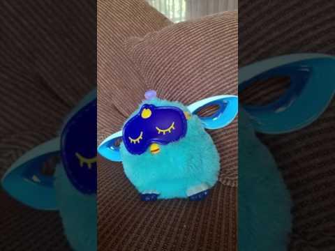 Furby goes to sleep