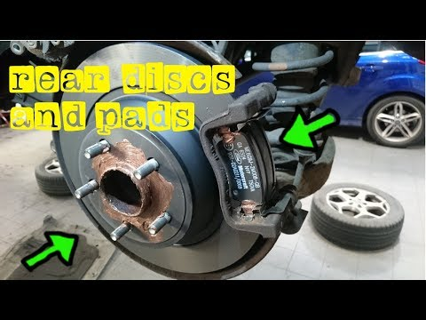 HOW TO REPLACE FORD MONDEO MK3 REAR DISCS AND PADS