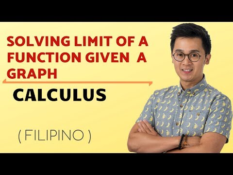 Calculus - Pagkuha ng Limit ng Isang Function Given and Graph