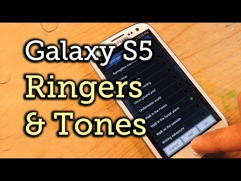 Add Galaxy S5 Ringtones to Your Samsung Galaxy S3 [How-To]