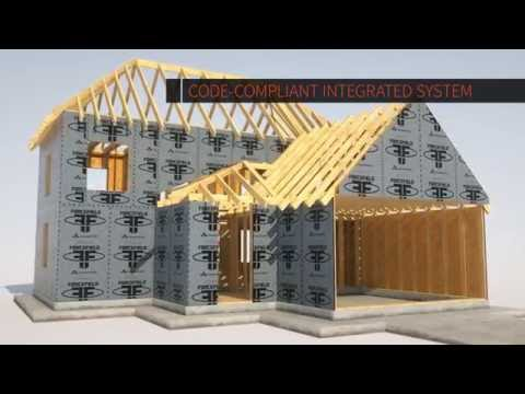 ForceField Air & Water Barrier System, a new advancement in building materials (Short Version)