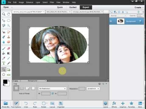 Photoshop Elements 11 Made Easy, Part 4 (Fancy Cropping)