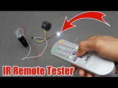 DIY IR Remote Tester Circuit