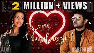 Mayilirage Cover by Super Singer  #Priyanka ft.  #KarthikDevaraj LOVE UNPLUGGED Season -1