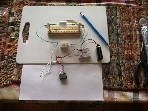 Electrostatic Motor-----Needle on steel bearings