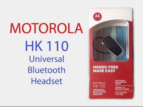 Motorola HK 110 Universal Bluetooth Headset