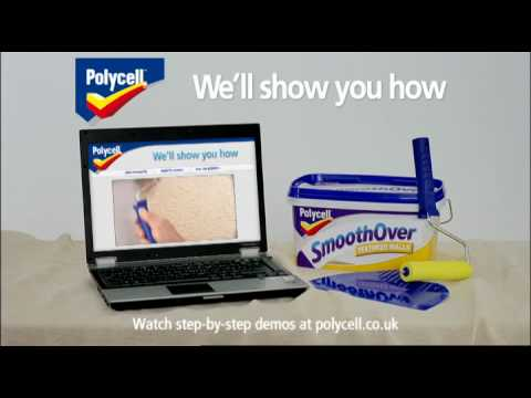 Polycell SmoothOver TV ad