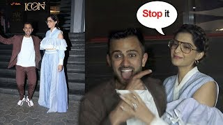 Sonam Kapoor Gets EMBARASSED By Husband Anand Ahuja
