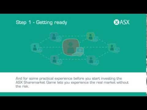 Getting into the sharemarket. ASX Tutorial