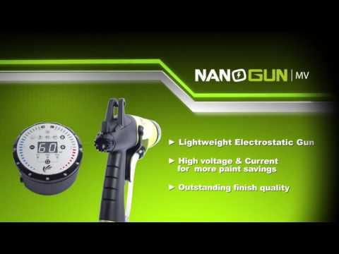 NANOGUN-MV® Manual Electrostatic Spray Gun   SAMES KREMLIN