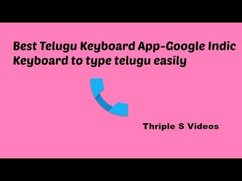 Best Telugu Keyboard App