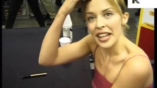 1998 Kylie Minogue Gets Angry at Rude Reporter, 1990s