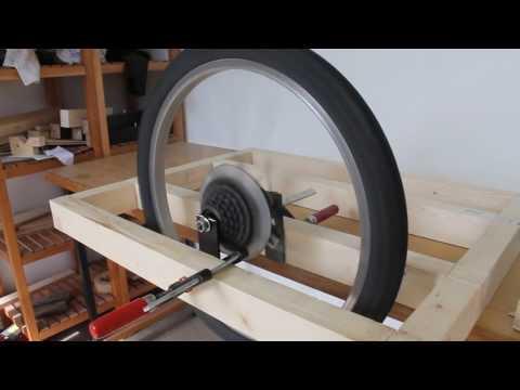 Making a bike trailer   part 1 of 2