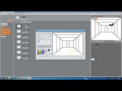 Scratch Programming 3D Gaming Tutorial fps?