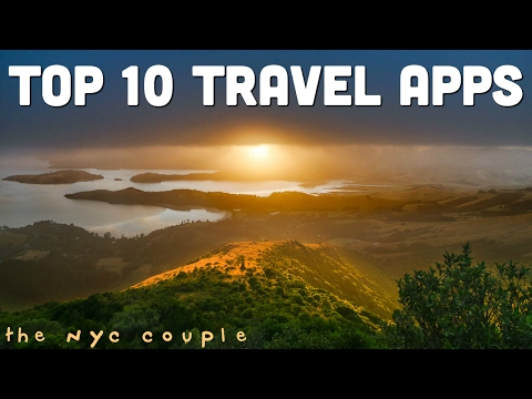 TOP 10 TRAVEL APPS // South America & New Zealand