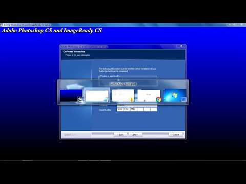 How to install Above Photoshop on Pc ( Windows XP ,Windows 7 ,,etc)