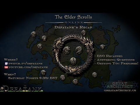 Episode 14 ESO Recapped - .182 PTS Build, Future of the PTS, Nightblade and Sorcerer Skill Lines
