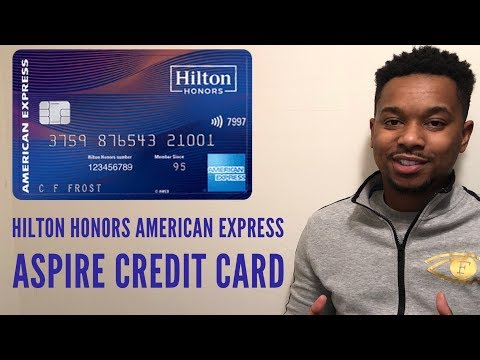 NEW AMEX Hilton Honors Aspire Card review! 100K SIGN UP BONUS