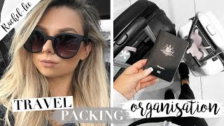 Travel Packing Organization Tips - Pack With Me
