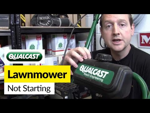 How to Fix a Petrol Lawnmower that won't Start