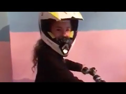 Girl Surprised With First Dirt Bike