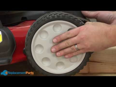 How to Replace the Front Wheel on a Troy-Bilt TB280ES Lawn Mower (Part # 753-08087)