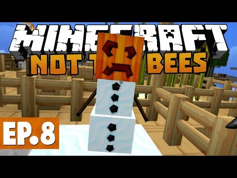 Minecraft Not The Bees - Let It Snow! #8 [Modded Skyblock]