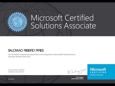Free Computer Training Online - Microsoft Certified Solutions Associate (MCSA) Certification