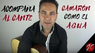 ACOMPAÑAMIENTO AL CANTE COMO EL AGUA DE CAMARÓN. Jerónimo de Carmen-Guitarra flamenca