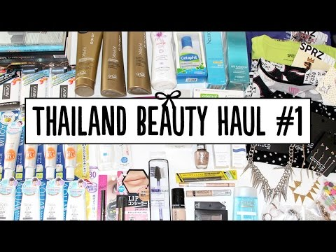 HUGE Thailand Beauty Haul - Eveandboy, Beauty Buffet & Central Beauty Hall | Pippopunkie