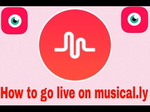 How To Go Live On Musically