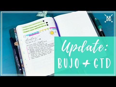 Bullet Journal + GTD Update (Full)