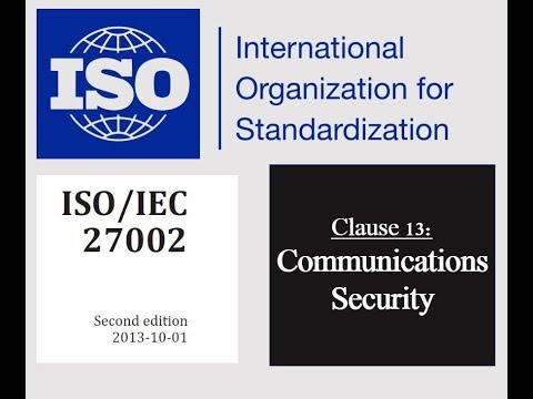 ISO 27002 - Control 13.2.1 - Information Transfer Policies and Procedures