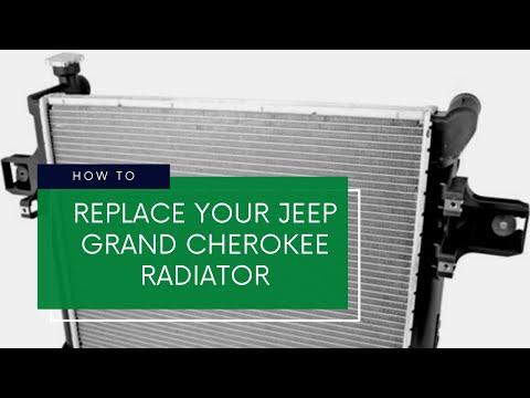 2006 Jeep Grand Cherokee (WK) 3.7 Radiator Replacement