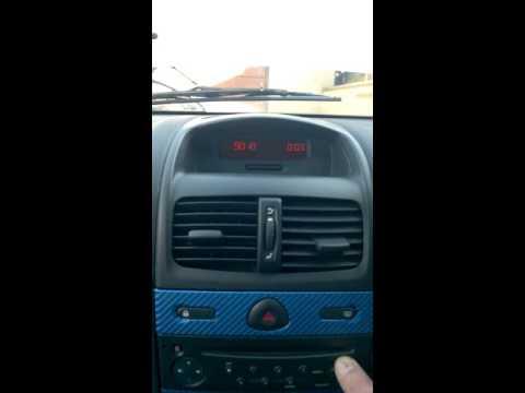 RENAULT clio car stereo unlocking