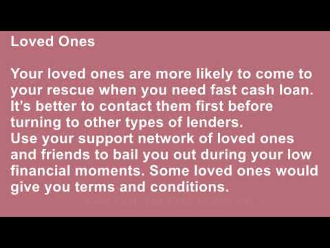 What Are The Top Ways To Get Cash Loans Fast?