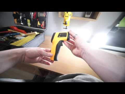 Tool review: £9 eBay/Amazon non-contact IR thermometer