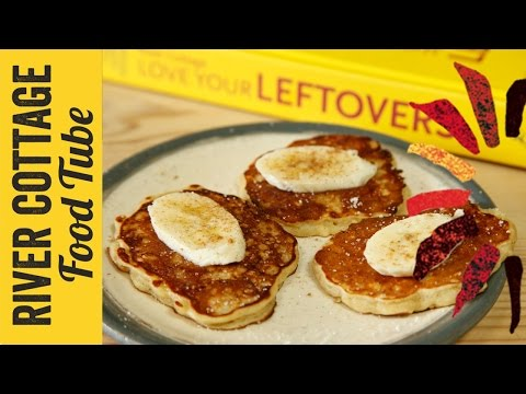 Oaty banana drop scones | Hugh Fearnley Whittingstall