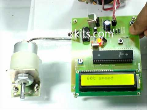 Speed Control Unit Designed For A DC Motor Using Microcontroller