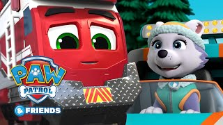 Awesome Animal Rescues!🐶🚂 PAW Patrol and Mighty Express Cartoon Compilation 62 PAW Patrol & Friends