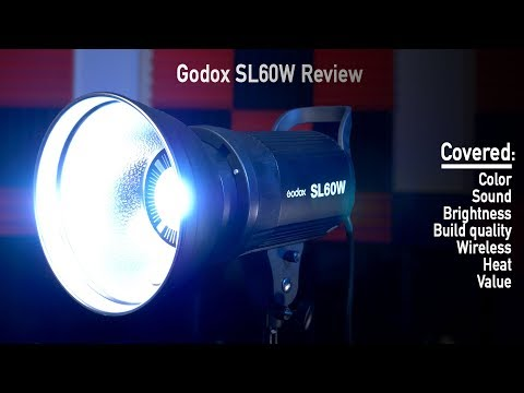 Godox SL60w Review - Low cost LED video light