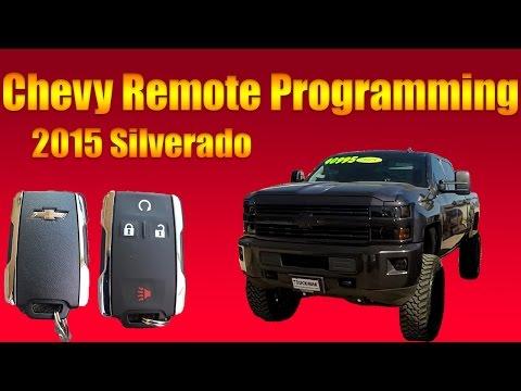2015 Chevy Silverado Remote Programming