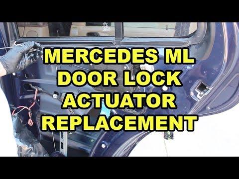 Mercedes-Benz ML Door Lock Actuator Replacement (W163)