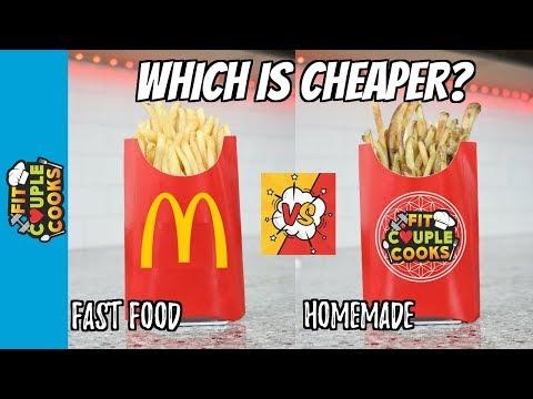 Is it Worth it? McDonald's Fries VS. Fit Couple Cooks