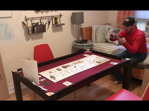 Custom DIY Board Game Table