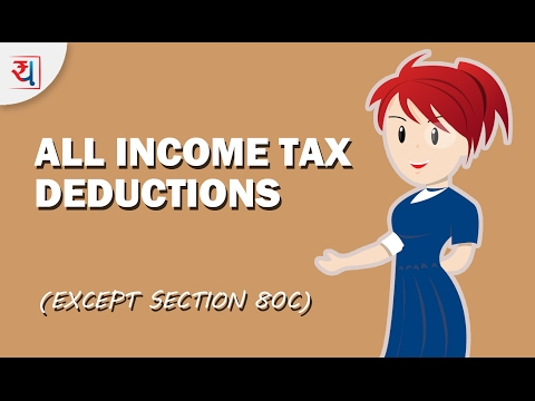 How to Save Tax using all Income Tax Deductions except Section 80C | Tax Saving Tips by Yadnya