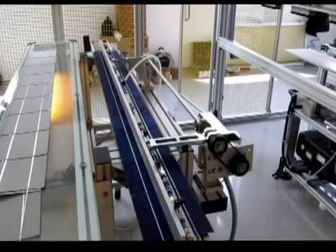 PV SEMIAUTOMATIC LINE - TABBER AND STRINGER MACHINE