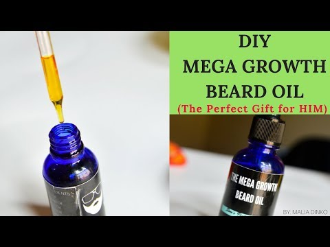 DIY BEARD OIL For All HAIR Types