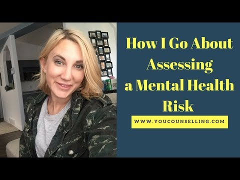 What is a mental health risk assessment?