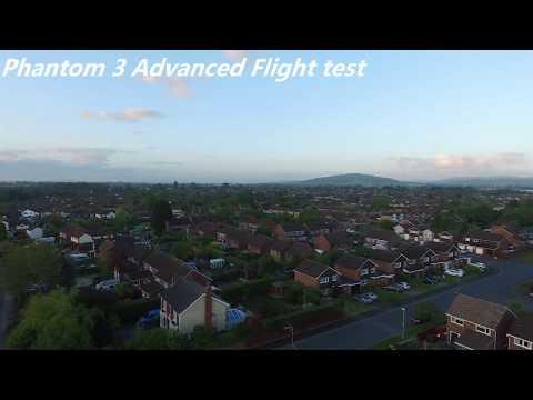 Phantom 3 advanced flight test